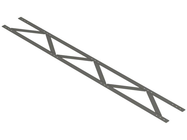 Cordolo a traliccio - Traliccio per muro da 40 cm